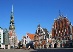 Riga Old Town - Blackhead house